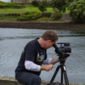 Food Over 50 director Jonathan White at Lewis Castle in Scotland